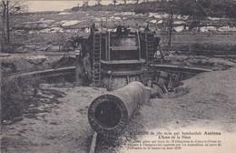 Le Canon De 380 M/m Qui Bombardait Amiens - Guerra 1914-18