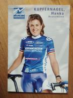 Cyclisme - Carte Publicitaire NÜRNBERGER : KUPFERNAGEL - Cycling