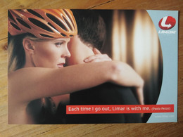 Cyclisme - Carte Publicitaire LIMAR  : Paola PEZZO 2 - Cycling