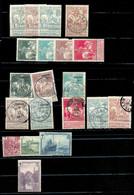 N°84/91 + 92-96-98 + 101/105 + N°295/298. COB 183 Euros.A Voir- 17625 - 1910-1911 Caritas