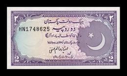 Pakistán 2 Rupees 1985-1999 Pick 37 Sign 11 SC- AUNC - Pakistan