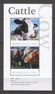Sierra Leone - MNH Sheet CATTLE - COWS - Granjas