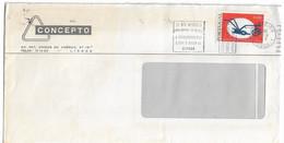 Portugal , 1976 , Sociedade Portuguesa De Autores 25 Th  Anniversary , Slogan Postmark Zonas Postais - Unclassified