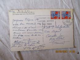 Meeting Aerien 8 Mai 60 Clermont Ferrand Flamme Omec - 1921-1960: Moderne