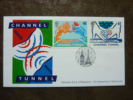 1994   Channel Tunnel    PERFECT   SG = 1822 / 1823 - 1991-2000 Decimal Issues