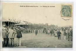 72 SILLE Le GUILLAUME Le Champ De Courses De Chevaux Tribunes 1906 Timbrée     /D14-2018 - Sille Le Guillaume