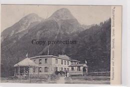 Spinas Im Beverserthal - Pension Suvretta - Vignette (Flottenmarke) - 1902          (P-312-01016) - GR Grisons