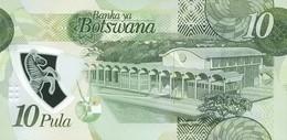 BOTSWANA P. 35 10 P 2018 UNC - Botswana