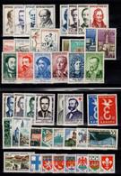 Année Complete 1958 N** , YV 1142 à 1188 , 47 Timbres Cote 63 Euros - 1950-1959