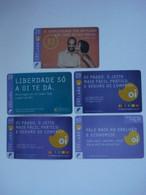 5 Cartes Prépayées à Identifier ( Utilisée ). Petit Prix De Départ. - Unknown Origin