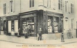 NANCY - Ancienne Maison Poyer, Emile Mellinger Coiffeur, 3 Rue Des Carmes. - Nancy