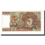 France, 10 Francs, Berlioz, 1975, P. A.Strohl-G.Bouchet-J.J.Tronche, 1975-12-04 - 10 F 1972-1978 ''Berlioz''