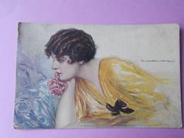 Illustrateur T Corbella Femme Rose Anna Gasparini  écrite BE - Otros Ilustradores
