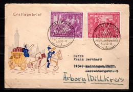 DEUTSCHLAND, DDR 1950 Leipziger Frühjahrsmesse - Covers & Documents