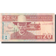Billet, Namibia, 20 Namibia Dollars, Undated (1996), Undated (1996), KM:6a, SPL - Namibia
