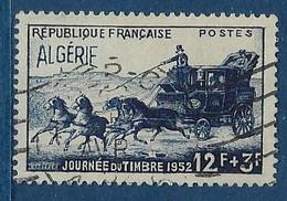 """Algerie YT 294 """" Journée Du Timbre """" 1952 Oblitéré - Oblitérés"""