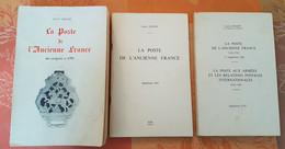 France - La Poste De L'Ancienne France De Lenain + 2 Suppléments - Francia