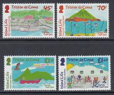 2019 Tristan Da Cunha Island Life   Complete Set Of 4  MNH @ BELOW FACE VALUE - Tristan Da Cunha