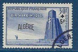 """Algerie YT 299 """" Bataille De Bir-Hakeum """" 1952 Oblitéré - Oblitérés"""