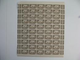 Sénégalfeuille De 50 Ex. n° 184 neuf **  Gomme Coloniale Plié En Deux  Voir Scan - Nuevos