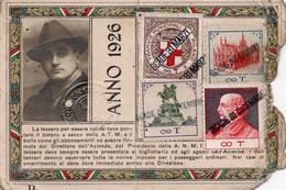 BIGL--00075-- ABBONAMENTO AZIENDA TRANVIE MUNICIPALI MILANO- ANNO 1926 - Europe