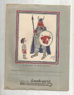 Protége Cahier D'histoire , LA VACHE QUIRIT , Illustrateur Hervé BAILLE , 2 SCANS , Frais Fr 1.85 E - Book Covers