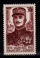 YV 1064 N** Franchet D'Esperey Cote 3,40 Euros - Unused Stamps