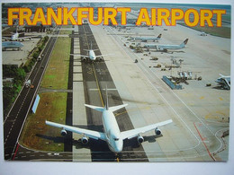 Avion / Airplane / LUFTHANSA / Boeing B747 / Seen At Frankfurt Airport / Size: 11X16cm - 1946-....: Modern Era