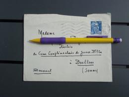 Enveloppe De Dédicace De Paul FORT Du 7 Juin 1954 - Autographs