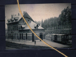 PHOTO ITTERBEEK DILBEEK Vlaamse Brabant   STATION DU TRAM - Dilbeek
