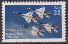 Aviation - ETATS UNIS - USA - Patrouille Acrobatique Les Thunderbirds - N° 2664 ** - 1997 - Nuevos