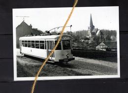PHOTO ITTERBEEK DILBEEK Vlaamse Brabant   TRAM A PLACE ROUPPE ANDERLECHT - Dilbeek