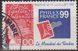 Marianne De Luquet - FRANCE - Exposition Philatélique Mondiale Philexfrance 99, Paris - N° 3127 - 1997 - Gebraucht