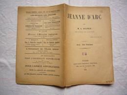 Plaquette Jeanne D'Arc Par M.A Delpech Député De L'ariège 1901 - Non Classificati