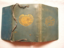 Pochette Cartonnée De Soldat Pour Livret Militaire Campagne 1914-1915 - 1914-18