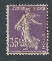 EA-13: FRANCE: Lot Avec N°136* - 1906-38 Säerin, Untergrund Glatt