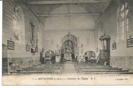 ARTANNES. Intérieur De L' Eglise. - Other Municipalities