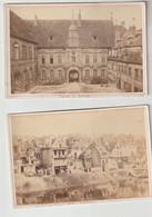 Doubs BESANCON 3 Photos Originales Anciennes Palais De Justice, Quai D'Arènes Et Palais Granvelle - Besancon
