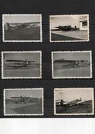Aviation Militaire Lot De 6 Cartes Photos - Aviación