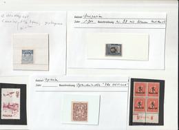 """0705-380R / Weltweit - Posten """"Diverses"""" (bessere Werte, Versch. Ausgaben, Marken In Tueten Etc.) / € 4.00 A - Lots & Kiloware (mixtures) - Max. 999 Stamps"""