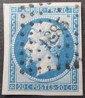 R1482/15 - NAPOLEON III - N°14B - PC 1885 : MARMANDE (Lot Et Garonne) - 1853-1860 Napoleon III