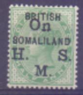 Somalie Service N° 1 Avec Charnière - Somaliland (Protectorat ...-1959)