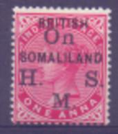 Somalie Service N° 2 Avec Charnière - Somaliland (Protectorat ...-1959)
