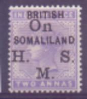 Somalie Service N° 3 Avec Charnière - Somaliland (Protectorat ...-1959)