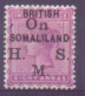 Somalie Service N° 4 Avec Charnière - Somaliland (Protectorat ...-1959)