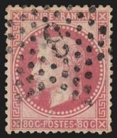 France N°32, Oblitéré étoile De Paris 3 - TB - COTE 40 € - 1863-1870 Napoléon III. Laure