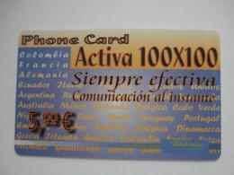 Carte Prépayée étrangère à Identifier ( Utilisée ). Petit Prix De Départ. - Unknown Origin