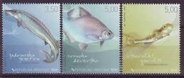 CROATIA 911-913,unused,fishes - Croacia