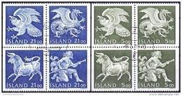 IJsland 1990 Wapens III GB-USED. - Gebraucht