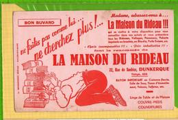 Buvard & Blotting Paper : La MAISON Du RIDEAU   DUNKERQUE - Textile & Clothing